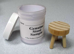 Stool samples for kids